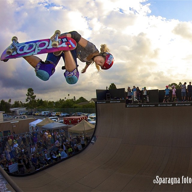 Wishing a super happy birthday to the McTwistin', backflippin', @xgames medalin' Arizonan Alana Smith (@alanasmithskate)!!!