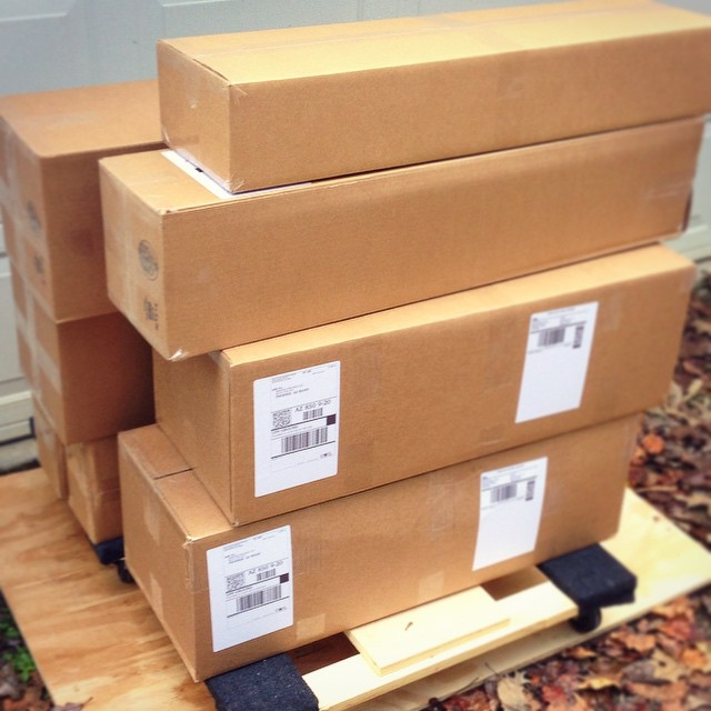 Another successful shipment of balance boards going out today.