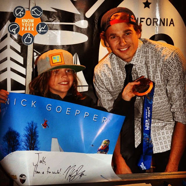 A big high five to everyone supporting in the #KnowYourPark project! @nickgoepper