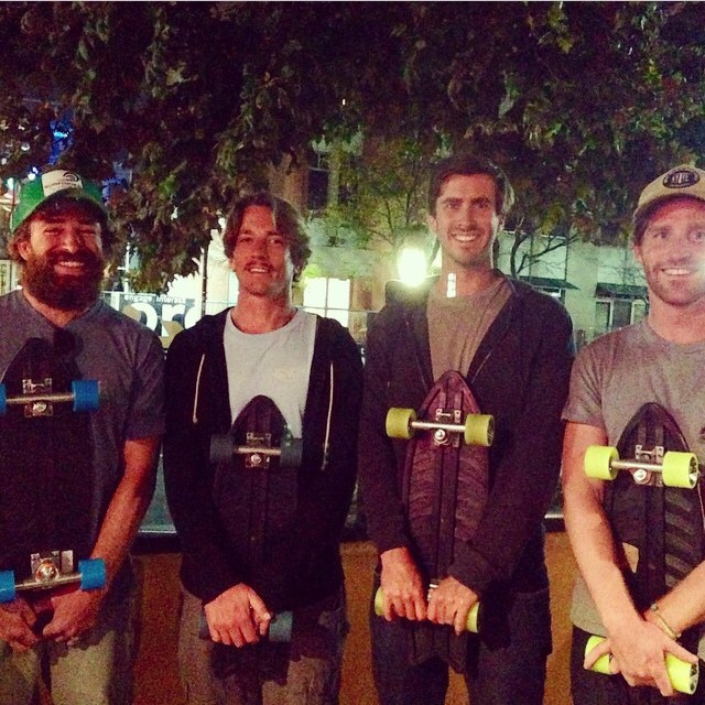 Great to hang with the @ucscseaslugs crew and the legends @stwcoalition in Santa Cruz last night!