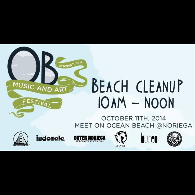Amigos en San Francisco...join us for a beach clean up this Saturday at Ocean Beach @Noriega. We will be doing a micro plastic study with @5gyres, and joining up with @surfrider and @Indosole! Post cleanup festivities include epic tunes and fishnet...
