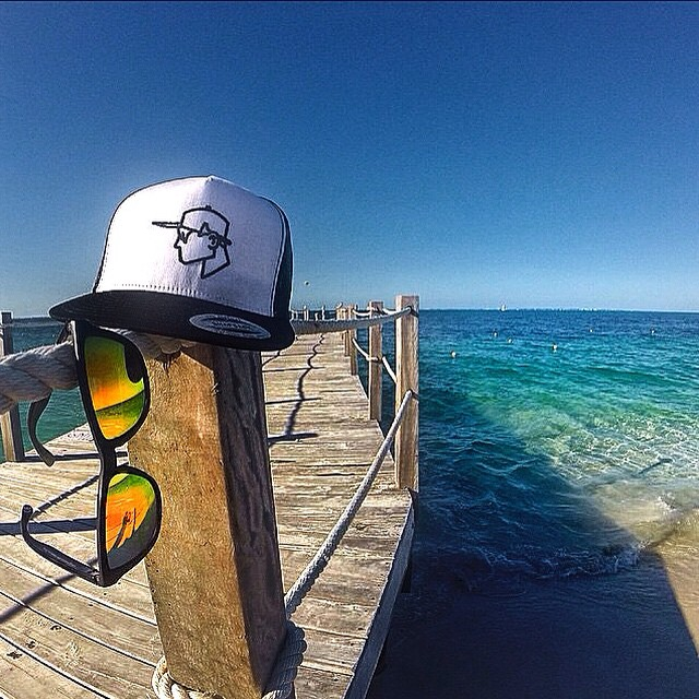 Our friends over at @skrambleclothes snapped this sweet shot of their #Skramble SnapBack & the #Kameleonz North Shore Shades! #LifesABeach #WheresYourBeach #ThisIsMyBeach #NorthShore #GoPro #EpicTravelSpots || Add us on Snapchat for exclusive HALLOWEEN...