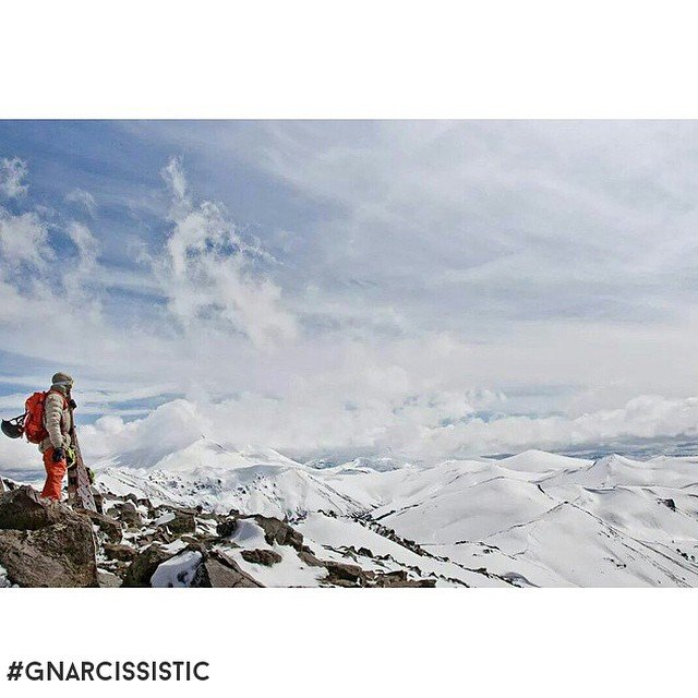 Finding adventure everywhere you go.  #GNARCISSISTIC  PC: @pascal_scl  Place: Lonquimay, Chile