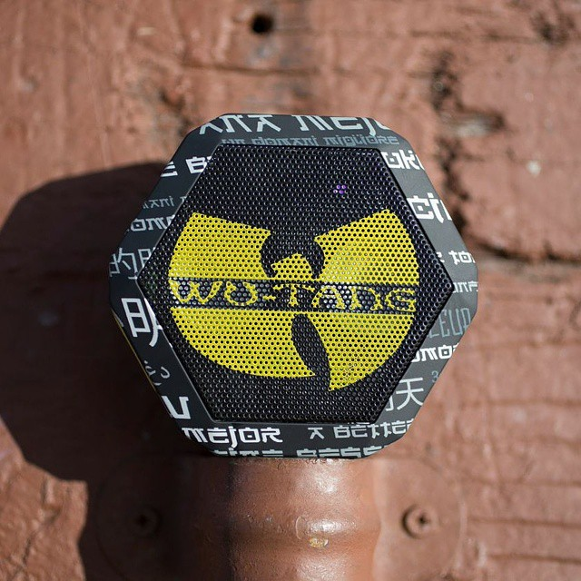 @zumiez just dropped the second batch of Wu-Tang speakers! Grab yours while they last #wutang #abettertomorrow #20years #wubots #music #36chambers #slumsofshaolin #boombotix