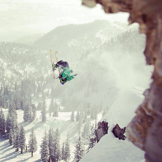 Takin it back to year two of our collection with a rad shot of B Rad out in Gargoyles behind @altaskiarea from the one and only @lgtrawinskiphotography! We hope our pieces are timeless and this old school #powfunk is one of our favorites! Check out the...