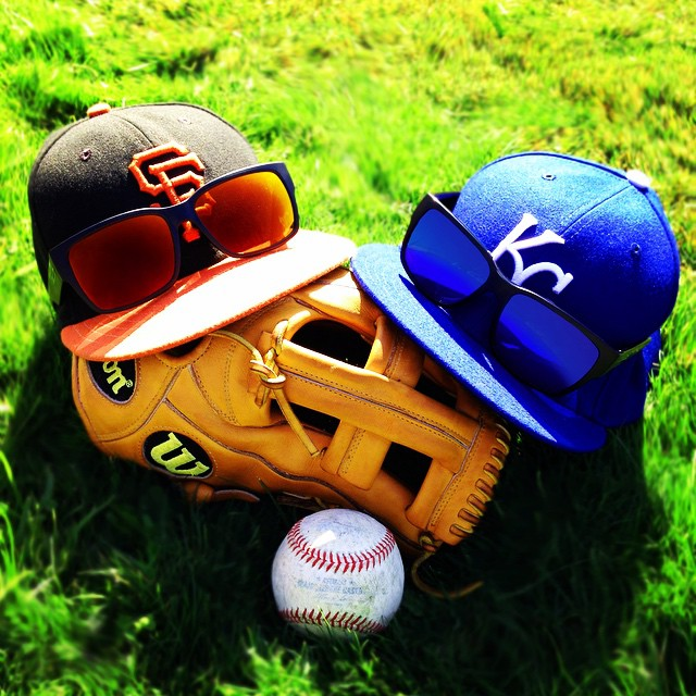 The colors of the 2014 Fall Classic... Dynasty vs. Destiny.  Pictured: 51-9923 / 51-9972 #hovenvision #sfgiants #worldseries #worldseries2014 #mlb #dynastyvsdestiny #worldseriesattitude #orangeoctober #kcroyals
