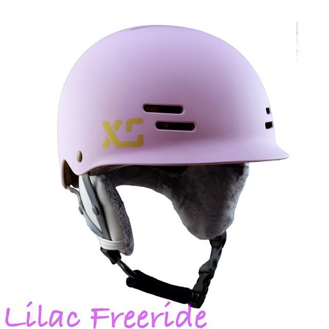 Winter ready! #skatebikeboardski #forgirls #girlsthatshred #xshelmets #lilac #snow