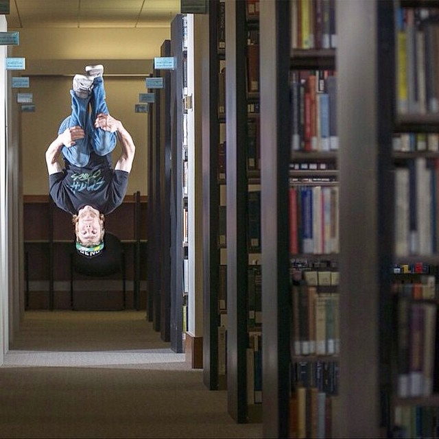 @sanderhadley agrees it's a general misconception that libraries are meant for reading. PC: @doworkdontsleep
