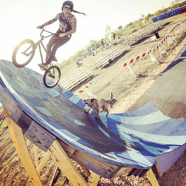 Just a dog day afternoon in Texas for @danilightningbolt. #bmx #texastoast