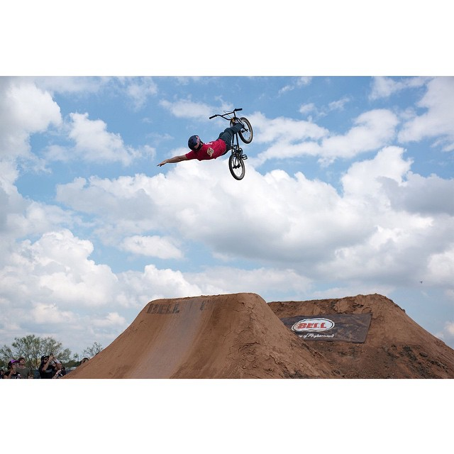 Backflips are bigger in Texas. (