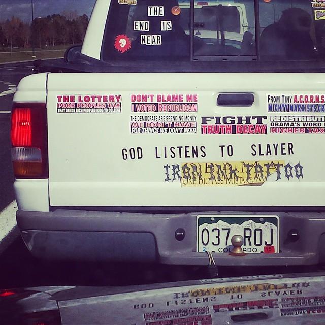 If you say so. #atdawntheysleep #slayer