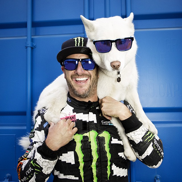 The #HappyLens is so good, even #YukiTheDestroyer approves.  #SEEHAPPY in the @kblock43 series, available at retail and on spyoptic.com