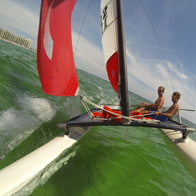 Photo of the Day! Sailing in the Gulf of Mexico. Photo by @pwjansson.