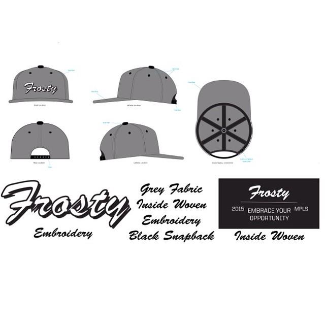 #FrostyHeadwear #Snapback
