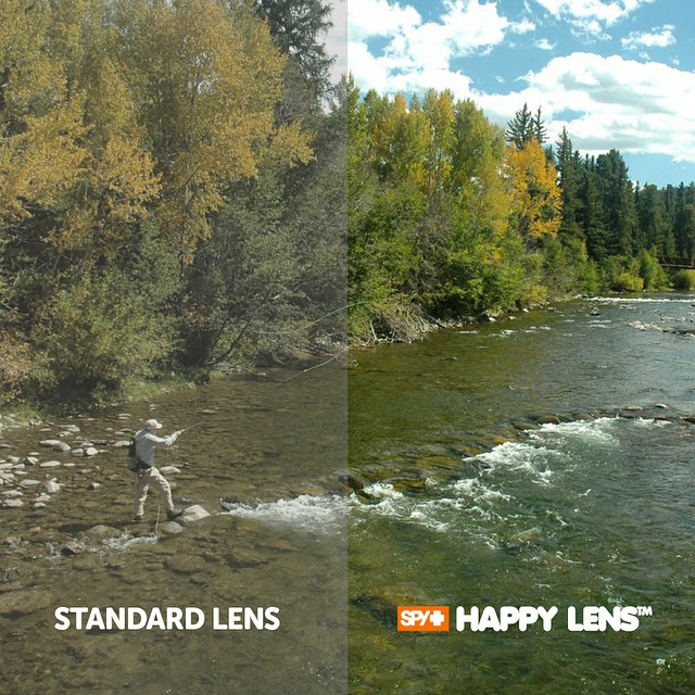 Do you know what it's like to #SEEHAPPY?  @conwaybowman uses the #HappyLens for #fishing, allowing its superior color and contrast enhancement properties to help him See Better, Feel Better and Perform Better.  Learn more about the only Lens With...
