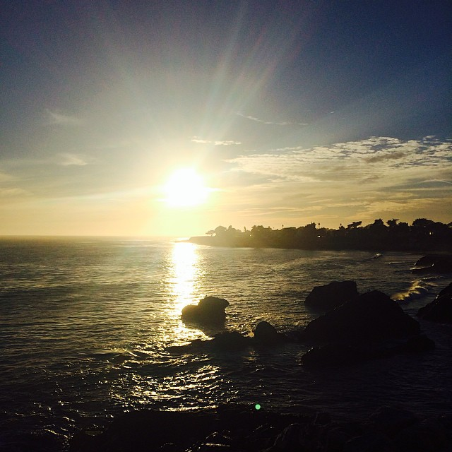 Just another perfect sunset in #SantaCruz