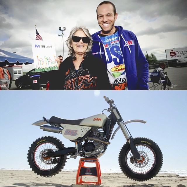 To honor the memory of Kurt Caselli, KTM, Red Bull and Roland Sands Design partnered to create a custom 450.  Check out XGames.com to learn more.