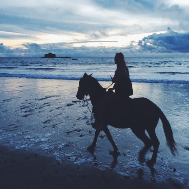 Heart humming. Thank you @corina_rose for capturing my second favorite thing in the universe, running around on horseback.