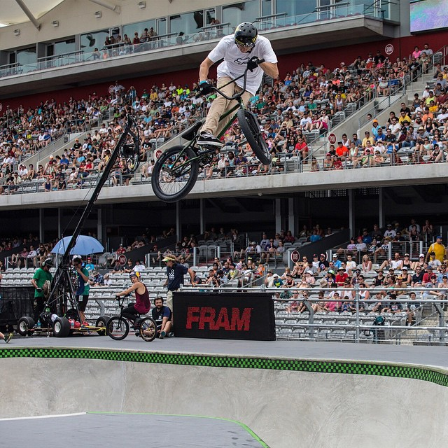 #TBT – In June, @chase_hawk cruised away with his first X Games gold medal.  Last weekend, the Austin native was kickin' it at Texas Toast. Click the link on our profile page to check it. (