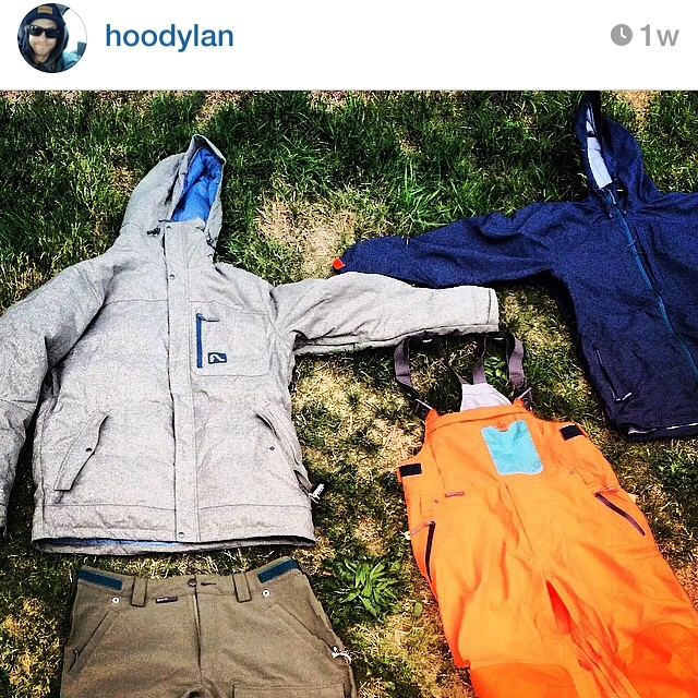 Flylow's @hoodylan is geared for the season, are you?