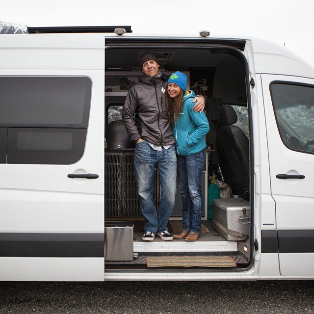 Check out @jthesenga and @brittany_griffith's #vanlife! The link is in our profile.They are two of the greatest dirtbags you'll ever meet.  What's a dirtbag? Here's the definition.  DIRTBAG CLIMBER (durt-bag kli-mer) n. a person who dedicates her or...