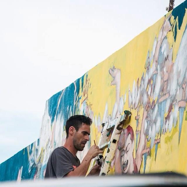 @boardesteban también forma parte de #OFICIO, de la mano de @kosovogallery #arte #vansart