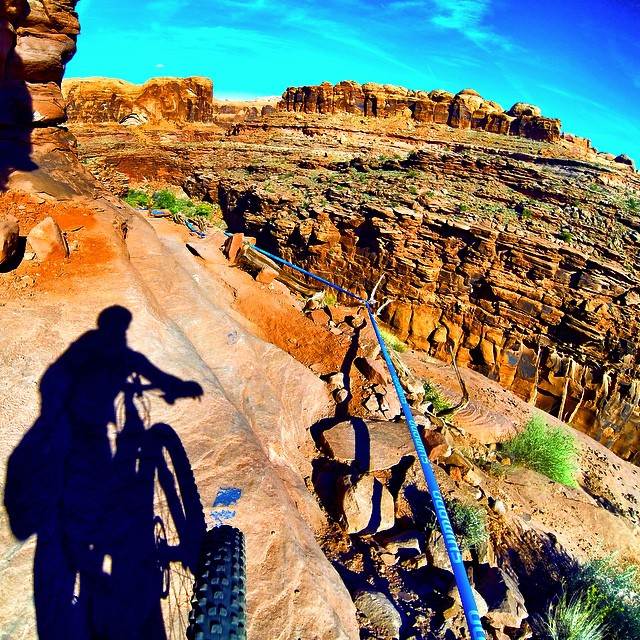 Climax with a view... #mtbike #moab