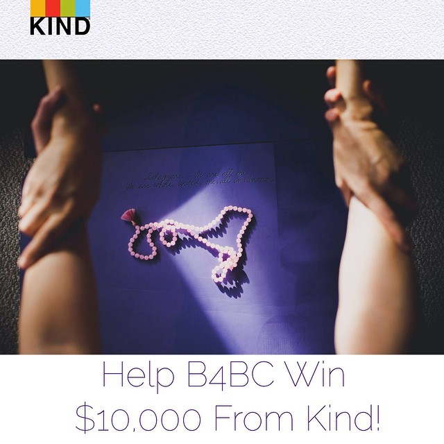 We are so honored to be nominated to win $10,000 from @KINDsnacks Causes! We need your help—by voting for B4BC, you can help us send 12-15 #breastcancer #survivors and women currently battling breast cancer on wellness retreats to promote #healing and...