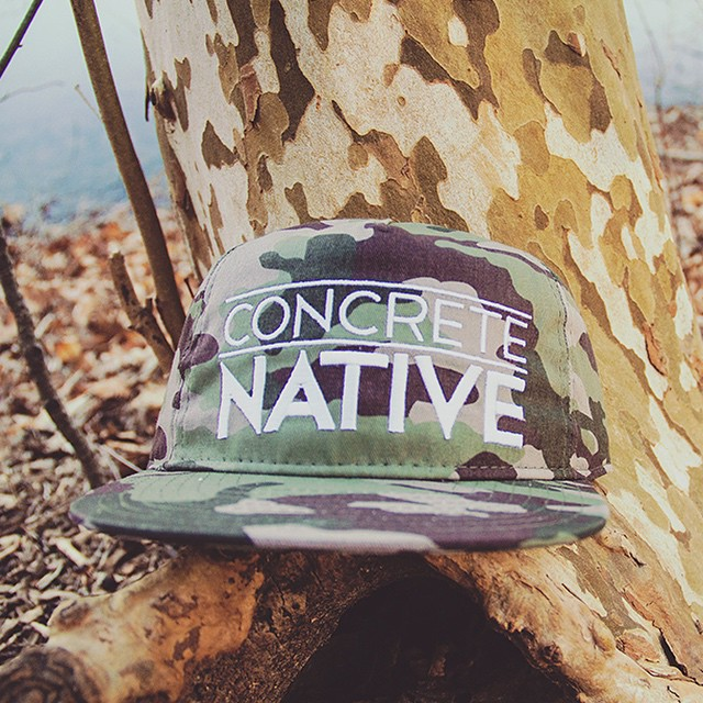 Our Swoon Units Hat in Camo is perfect for those autumn vibes #concretenative #autumnvibes #camo #snapback