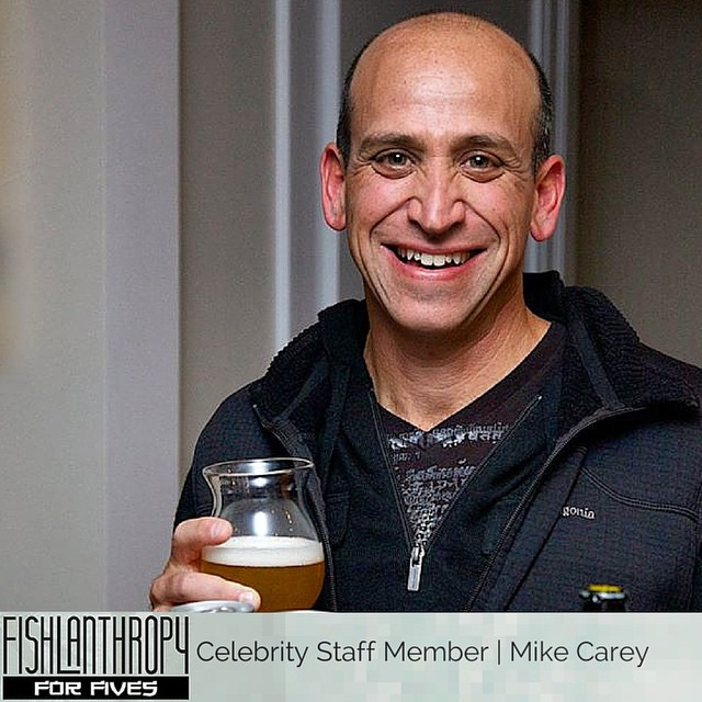 The man, the myth, the legend. Join Mike & other winter sports celebrities, Oct. 25th for | FISHLANTHROPY | A one of a kind FUNdraising event bringing together Hi5s, @sushiinstowe #thealchemistbrewery #ishareworks & @vtnorthskishop