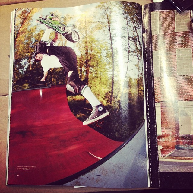 #navs #sightings new issue of @transworldskate #fastplant #skateboarding #s1helmets  #hyped