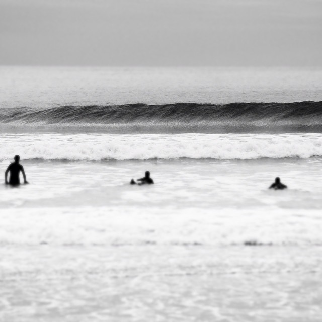 #maine photo by John Casey #coldwatersurf #newengland #bw #blackandwhite
