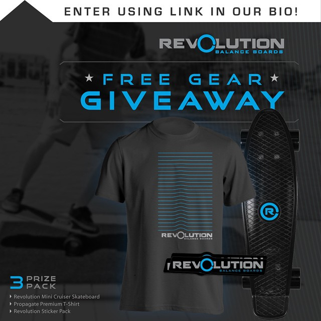 Hey everybody, we are back up and running a new giveaway for all of our followers! We want to give back to all of our supporters, without you none of this would be possible. -------------------------------------------- Win A FREE Revolution Gear Pack •...