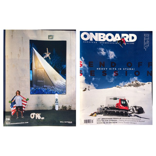 The latest @onboardmag just dropped- @willtobe_weird with a #backtail on his #superparkltd