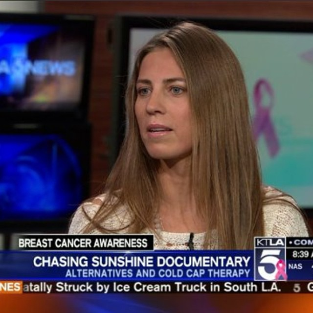 ICYMI, B4BC Ambassador @megsporcheron was on @ktlamorningnews yesterday talking about her #breastcancer journey, her 15 year involvement with #B4BC and how she incorporated #coldcaptherapy into her treatment.  Catch the inspiring segment on the B4BC...