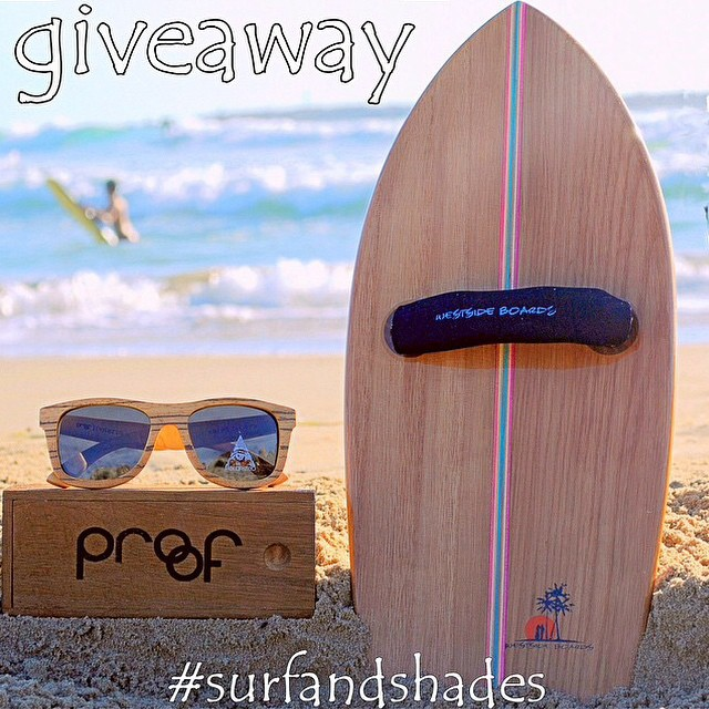 Don't forget to enter in to @westsideboards 'Wood is Good' IG Giveaway! Winner will be announced on Monday! #surfandshades