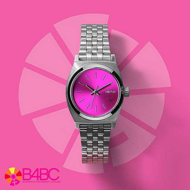 We support.  Introducing the Nixon X @B4BC Small Time Teller, new from Nixon.  A percentage of the sales of this watch benefit the foundation's educational outreach and prevention programs. #behealthygetactive #thesmalltimeteller #nixon #b4bc