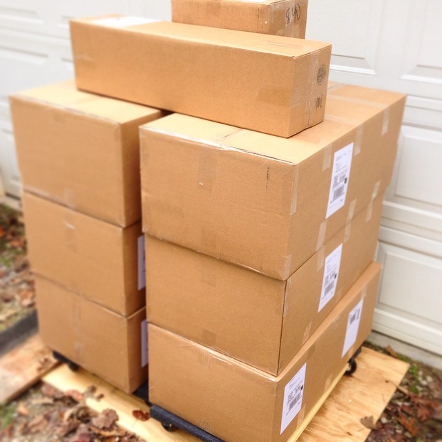 Another big shipment of #balanceboard s going out today