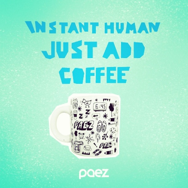 Heavy tuesday. Make it light #Paez #instamood #coffee #cup #morning #instanthuman