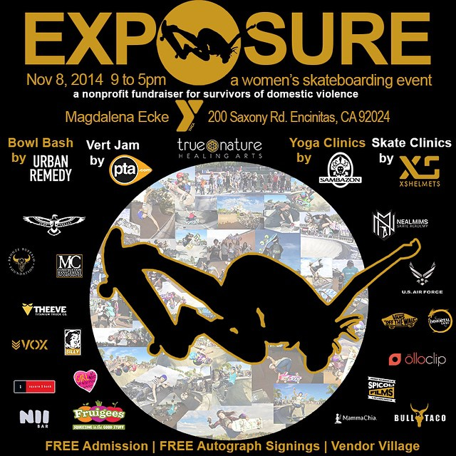 With exactly two weeks to go until #EXPOSURE2014, we want to send a loud shout-out to our amazing sponsors. This year's event will be the biggest and best yet, and it wouldn't be possible without your generous support. THANK YOU! --- For sponsorship...