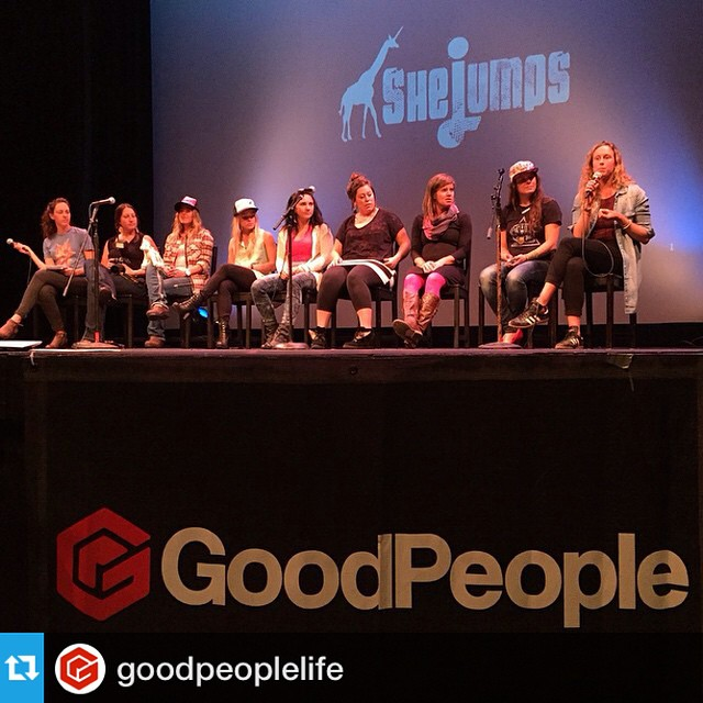 "Chatting all things women and skiing at @prettyfacesmovie #SanFrancisco with these rad ladies. Big thank you to our friends at @goodpeoplelife for capturing the moment. --- Words of wisdom from @lynseydyer ""be so good they can't ignore you - there is..."