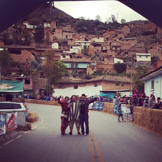 Race day today in Tarma Peru! Have fun yall! @tyler_howell_sb @jameskelly_shm #tarma #peru #calibertrucks