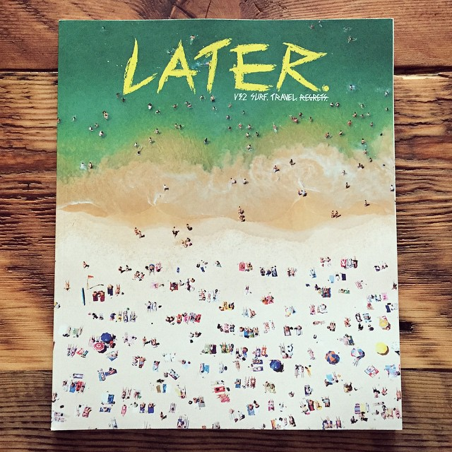 The best Sunday morning read... #LATERmag