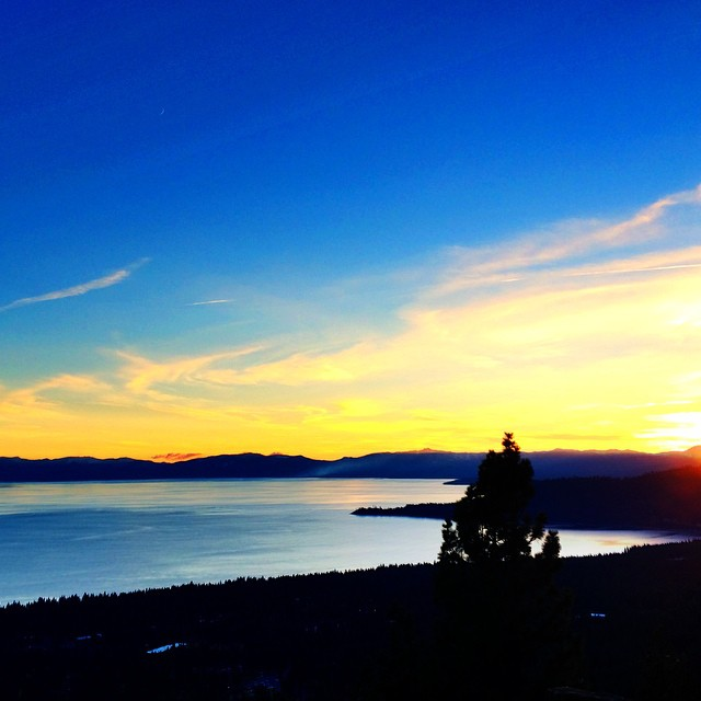 Thank you #LakeTahoe... Reflect, Breath, Move Forward | #ChoosePositivityNow.com