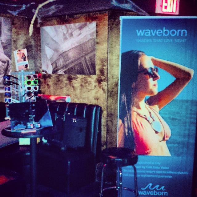 Come visit us San Diego. Bluefoot bar and lounge. #waveborn