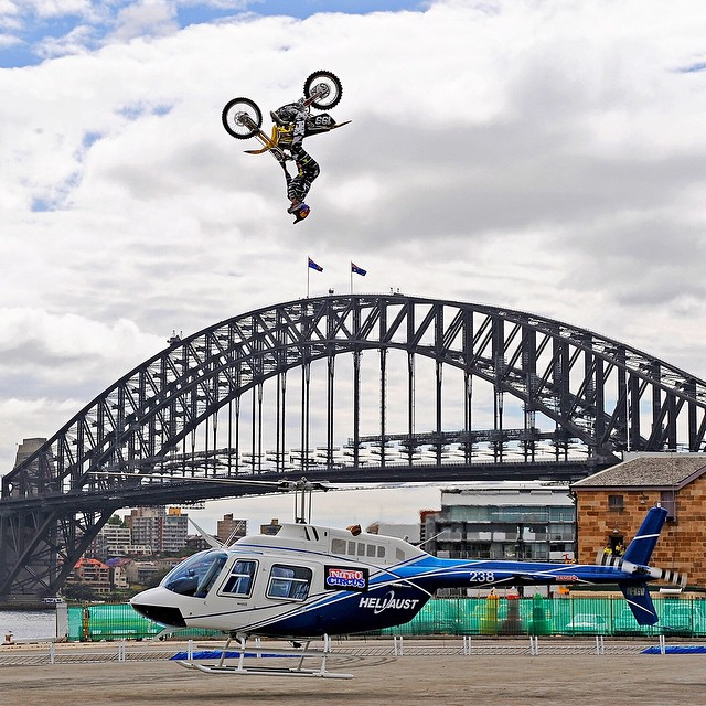 """I won't say anything is possible.  But, we're doing things never thought possible.""-@TravisPastrana #MondayMotivation ("