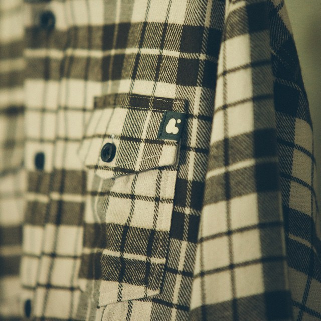 Close up of our new CLAUDE FLANNEL. Head over to ambig.com to pick one up! #ambigclothing #claude