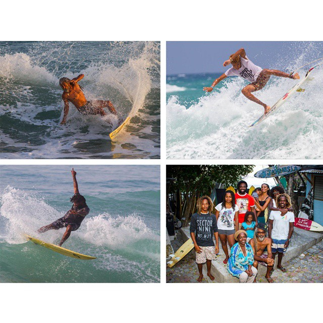 In Jamaica, surfing is synonymous with the name Wilmot.  Visit XGames.com to check out our profile of the family. (