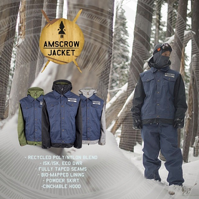 Want a chance to win an i.N.i Amscrow Jacket, worn here by Pro, Shaun McKay?  Reply to this post: If you were designing iNi's Snow 2015 Outerwear, what would inspire you most? Tag three friends in your post, for a chance to be entered. Winner will be...