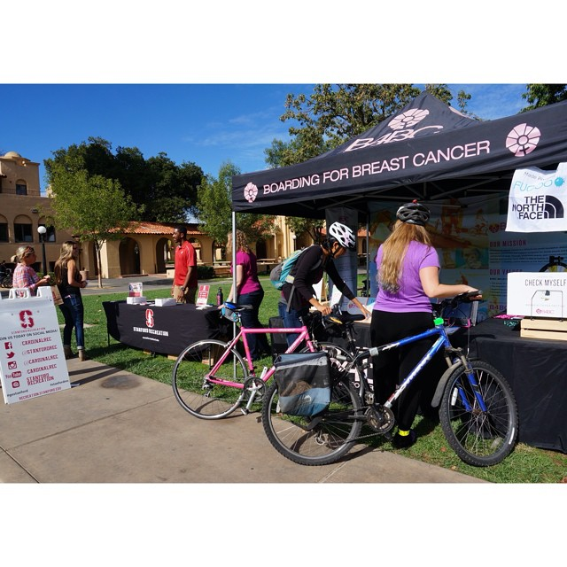 We had a great day of #CheckOneTwo outreach at @Stanford today working alongside our friends at #StanfordRec to educate students about the importance of exercise & early detection. Having won the #Pac12 Fitness Challenge this past year, #Stanford is a...